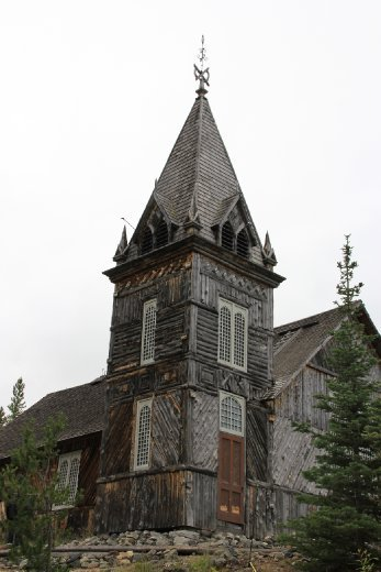 Church at Lake Bennett