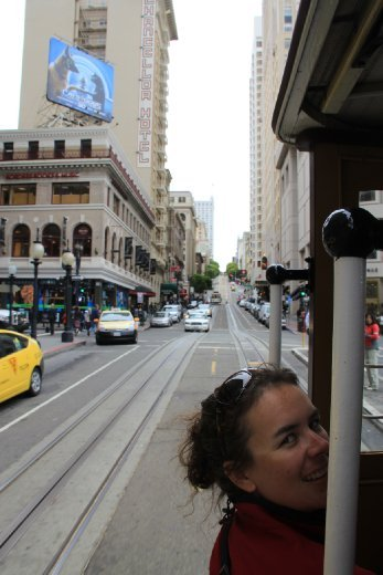 Cable car to fishermans wharf