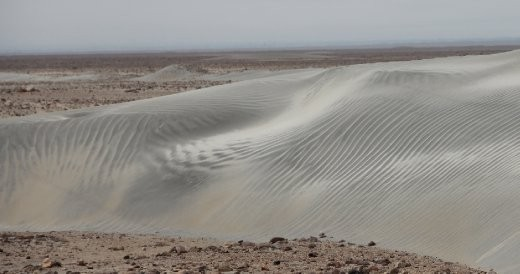 Northern extent of Atacama desert
