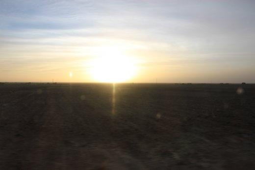 Sunset on the Altiplano
