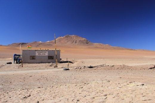 Bolivian border post