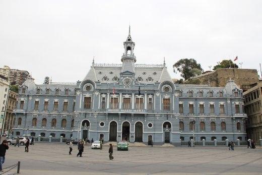 Naval headquarters in Valparaiso