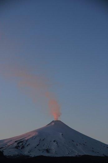 Volcano Villarrica....we climbed this