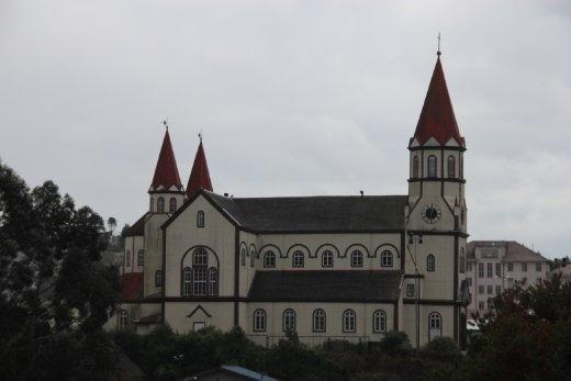 The church at Puerto Varas