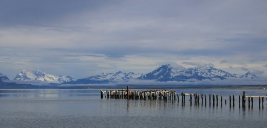 A calm day in Puerto Natales