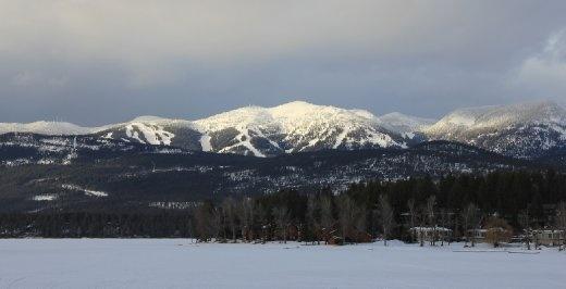 Whitefish ski field, Montana