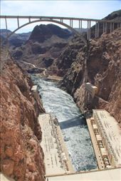 The new bridge beside the hoover dam: by chris_and_dusk, Views[205]