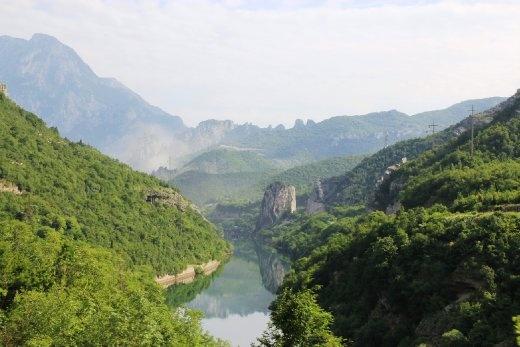 On way from Mostar to Sarajevo