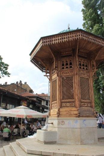 Water fountain Sarajevo