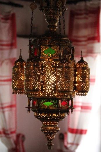 Lamp in Bosinian house