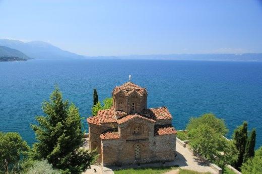 St John Kaneo church, Lake Ohrid