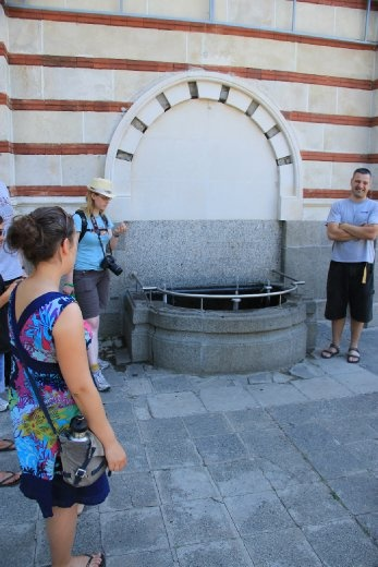 One of the main groundwater springs in Sofia