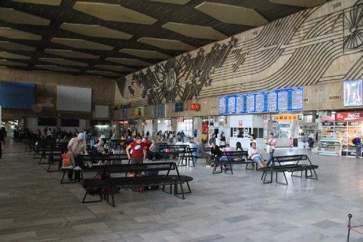 Sofia train station