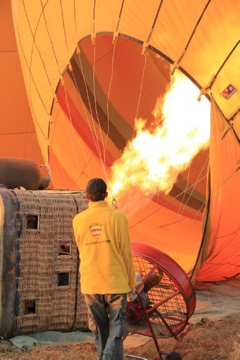 Going ballooning