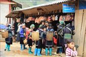 Black Hmong women trying to sell stuff to a tourist: by chris_and_dusk, Views[82]