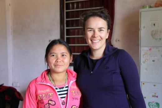 Dua (pronounced Zho) the student who I worked with while at Sapa O'Chau