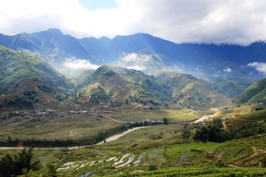 Looking down on Lao Chai