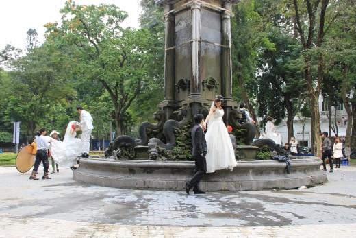 The wedding photo spot in Hanoi