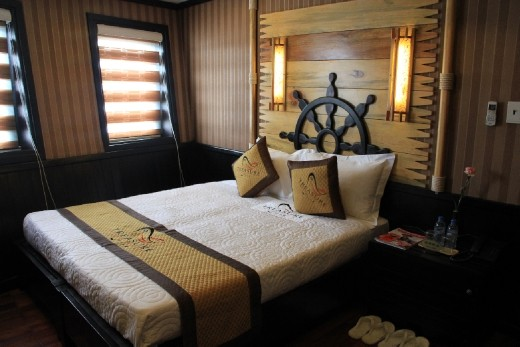My cabin on the boat