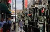 In the main streets of mexico just driving around, all these soldiers had machine guns.. : by chrisbyrne6, Views[247]