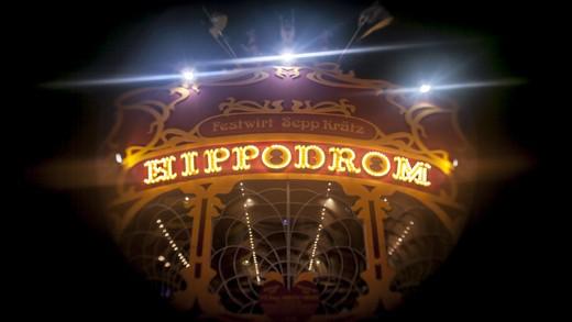 The Hippodrom Tent at Oktoberfest