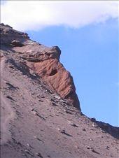 Die Mumie... Gestein im Valle de la Muerte, San Pedro de Atacama: by christinasandra, Views[224]