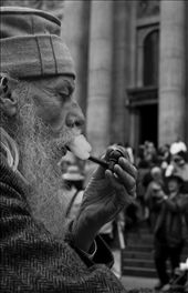 A very relaxed and eloquent protester : by ciarancollins, Views[117]