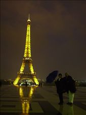 Paris: The gorgeous Eiffel in all her glory as the elements let loose!: by cindy, Views[147]