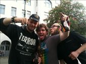 In Berlin with a real old school punk and my new friend Marcel: by cjmules, Views[127]