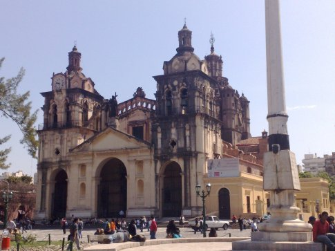 Cathedral in San Martin Square