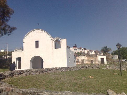 The site of a Jesuit estancia (ranch) but all thats left now is the church and the dilapidated house behind