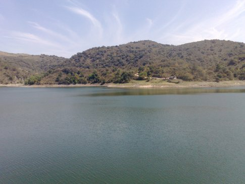 Reservoir in dry season...meant to be more impressive in rainy season