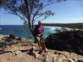 Adam at Devils Point, Noosa: by clare-tamea, Views[214]
