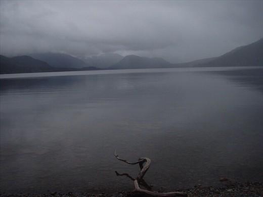 West Coast moody lake