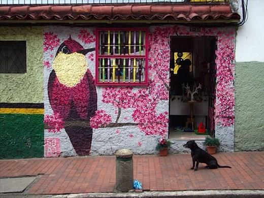 Bogota painted house