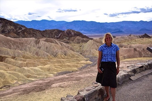 Clare in Death Valley