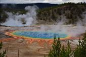 Grand Prismatic Spring, Yellowstone: by clare-tamea, Views[123]