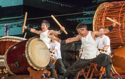 Taito Drumming Festival in Matsumoto