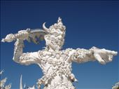 Detail at the White Temple, Chiang Rai: by clare-tamea, Views[137]