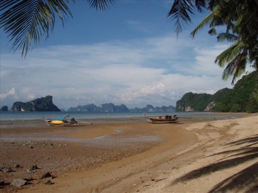Amazing scenery from beach, Ko Yao Noi