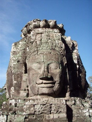 The faces of Bayon