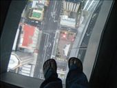 The glass floor up the sky tower: by claremccallum, Views[260]