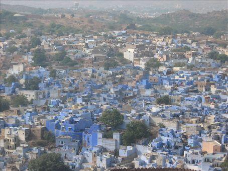 Jodhpur, Blue city.