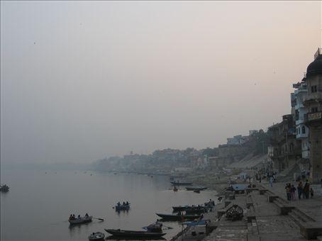 The main ghats
