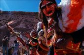 The pilgrimage is transformed into a parade of feathers, seeds, colors, music and costumes representing a constellation of spirits gathered in this unique space that brings together different Andean peoples: Aymara, Quechua and Atacameños.  : by claudiamachuca, Views[269]