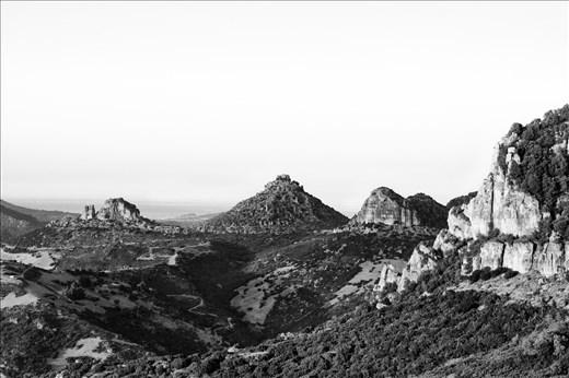 Landscape from Monte Corongiu (Sardegna)