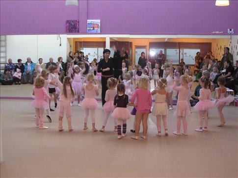 Aula aberta de balé de Jasmijn / An open ballet class