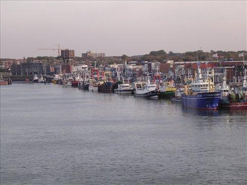 Vista do porto / View of the port