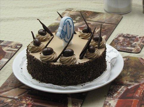 O belo bolo de aniversario / The great birthday cake