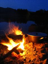 Campfire cooking, Naiman Nuur.: by climberchris, Views[455]